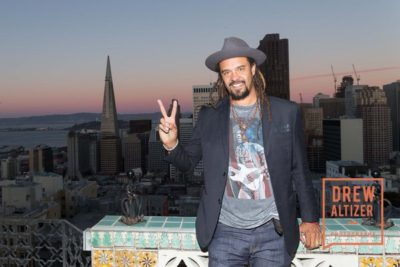 SAN FRANCISCO, CA - September 21 - Michael Franti attends Do it for the Love Foundation Hosts the Rocker's Ball September 21st 2016 at Fairmont SF in San Francisco, CA (Photo - Claudine Gossett for Drew Altizer Photography)
