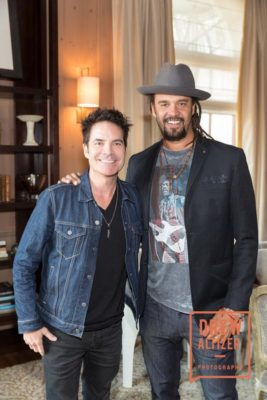 SAN FRANCISCO, CA - September 21 - Pat Monahan and Michael Franti attend Do it for the Love Foundation Hosts the Rocker's Ball September 21st 2016 at Fairmont SF in San Francisco, CA (Photo - Drew Altizer)