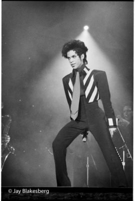Prince photographed photographed at the Bill Graham Civic Center in San Francisco, CA April 11, 1993 © Jay Blakesberg/Retna LTD.